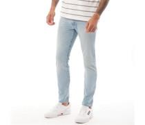 512 Jeans mit zulaufendem Bein Steinwasch
