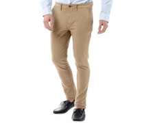 Herren Sargent Lake Stretch Denim Chinos mit geradem Bein Khaki