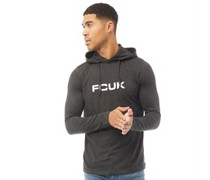 FCUK Top mit langem Arm Anthrazitmeliert