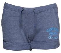 Damen Shorts Blaumeliert
