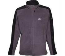Trespass Mens Acres Full Zip Fleece Jacket Flint
