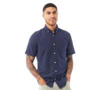 Abel Organic Hemd mit kurzem Arm Navy