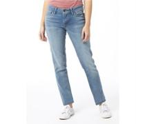 Damen 712 Jeans in Slim Passform Mittelblau