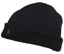 French Connection Herren Plain Beanie Mütze Schwarz