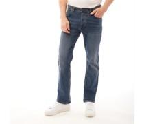 Stretch Bootcut Leg Denim Bootcut Jeans Dunkelsteingrau