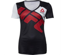 Reebok Womens UFC Jersey Custom Black