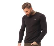 Secure Pullover mit Rundhalsausschnitt