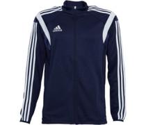adidas Mens Condivo 14 3 Stripe ClimaCool Full Zip Training Jacket New NAvy/White