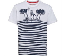 Original Penguin Jungen Palm Graphic T-Shirt Gestreift