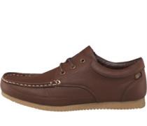 Herren Nero Schuhe Dark Brown
