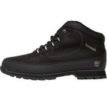 Timberland Mens Euro Brook Hiker Nubuck Black