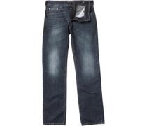 Duck and Cover Herren Zinc Jeans in regulär Passform Dark Wash