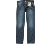 Duck and Cover Herren Jeans in regulär Passform Blau