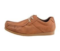 Bobby Wallabie Schuhe Hellbraun