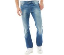Herren Thavar 0855G Skinny Jeans Blau