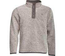 Herren Bonded Micro Fleece Ecru/Grau