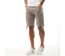 Basic Cargo Shorts Schiefer