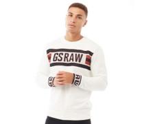 Raw Jacquard Sweatshirt