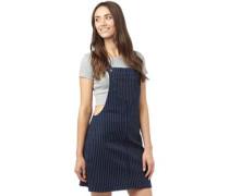 Damen Alexa Dungaree Kleid Blau