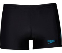 Speedo Herren Sports Logo Panel s Badehose Schwarz