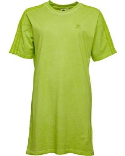 Tee Kleid Neongelb