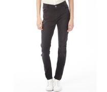 adidas Neo Damen Skinny Jeans Verblasstes Schwarz