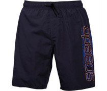 Speedo Herren Graphic 18 Water s Badeshorts Blau