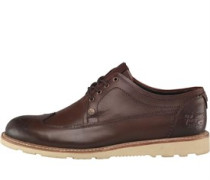 Classic Brogue Schuhe Dunkel