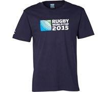 Canterbury Herren 215 Logo T-Shirt Blau