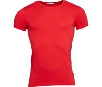 Versace Mens V-Neck T-Shirt Red