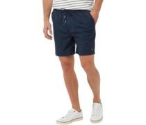 Herren Pendergrass Linen Shorts Dunkelblau