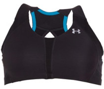 Damen HeatGear Armour 2.0 B-Cup Sports BH Schwarz