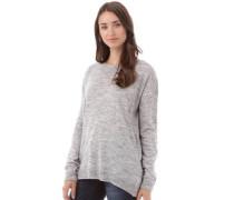 Onfire Damen Pullover mit Rundhalsausschnitt Grau