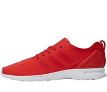 Damen ZX Flux ADV Smooth Sneakers Rot