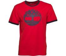Timberland Herren T-Shirt Rot