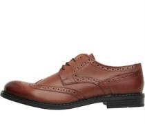 Herren Main Brogue Schuhe Hellbraun