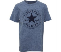 Converse Boys Snow Yarn Chuck Patch T-Shirt Dress Blue Snow