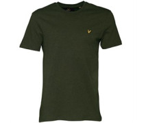 T-Shirt Dunkelgrünmeliert