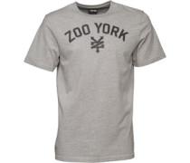 Herren Arched Logo T-Shirt Graumeliert