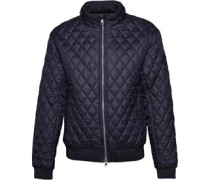 Herren Ceelowe Quilted Harrington Jacke Navy