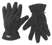 Herren Thinsulate Polar Handschuhe Schwarz