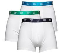 Herren Boxershorts Weiß