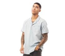 Cubano Hemd mit kurzem Arm Steinwasch