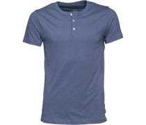 Herren T-Shirt Blau