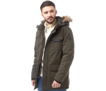 JACK AND JONES Mens Follow Parka Rosin
