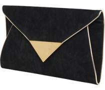 Little Mistress Womens Envelope Clutch Bag Black