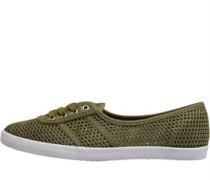 Freizeit Schuhe Oliven