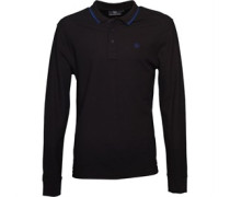 Duck and Cover Herren Jordan Pique Polohemd Black