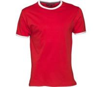 Mens Tallon T-Shirt Red/White
