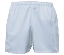 Canterbury Mens Advantage Poly Twill Rugby Short White
